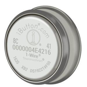 Thermochron DS1922T Temperature Logger copyright OnSolution Pty Ltd